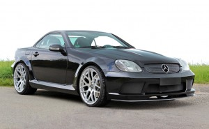 "LUMMA Tuning: Mercedes-Benz SLK R170 ""Black Move"""